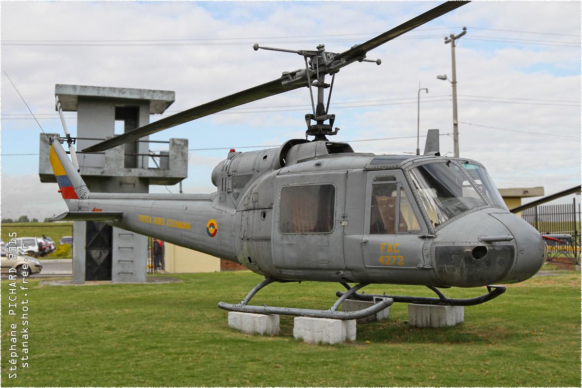 tof#128_Bell 204_de la Force aérienne colombienne