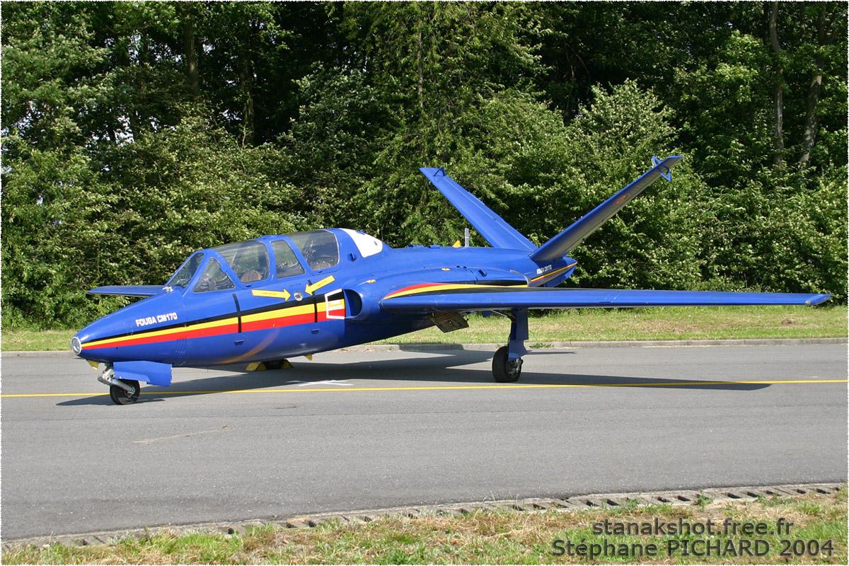 tof#155_Fouga_de la Force aérienne belge