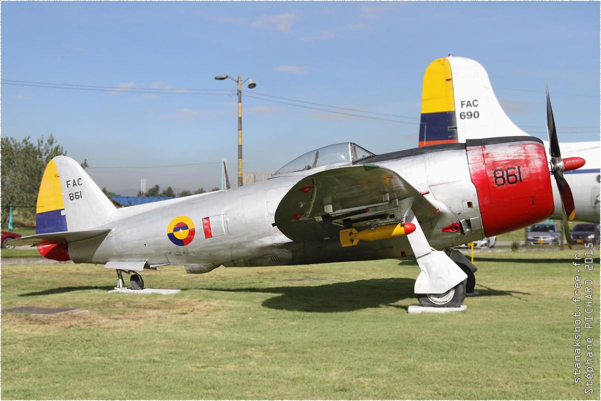 tof#161_P-47_de la Force aérienne colombienne