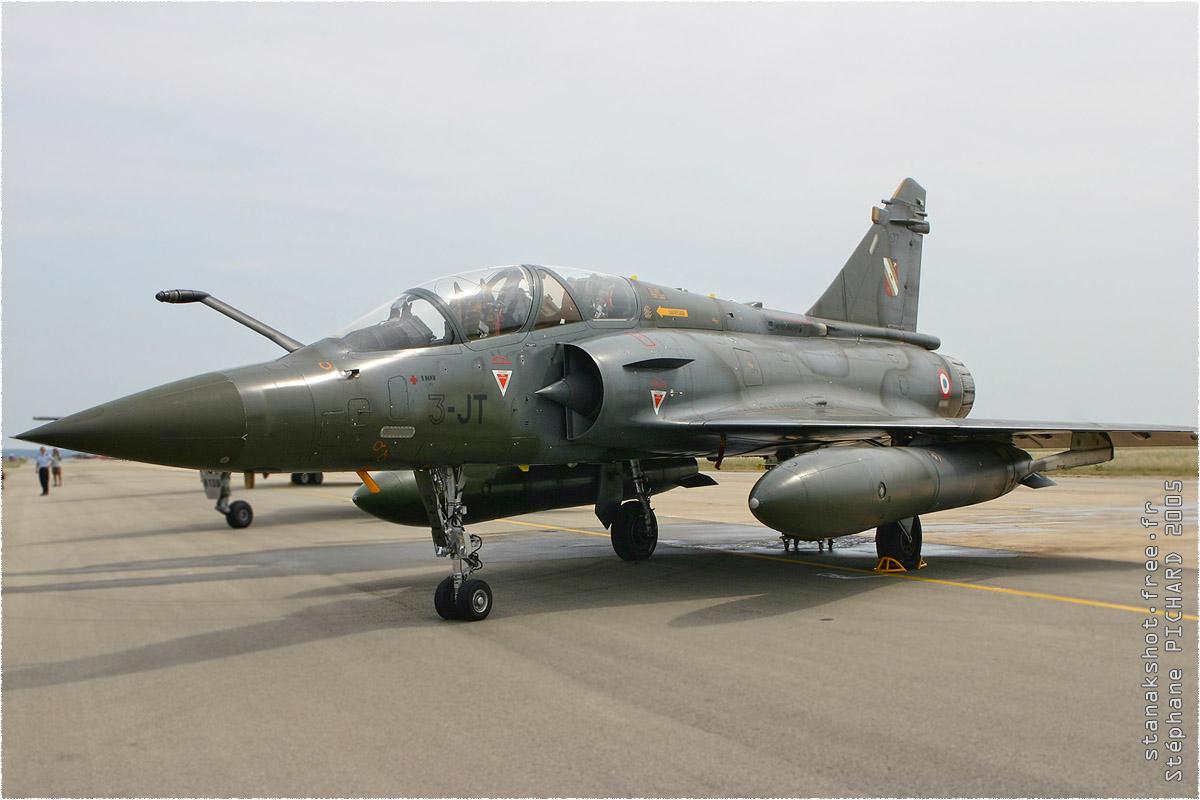tof#216 Mirage 2000 de l'Armée de l'Air française au statique à Istres (FRA) lors du MNA 2005