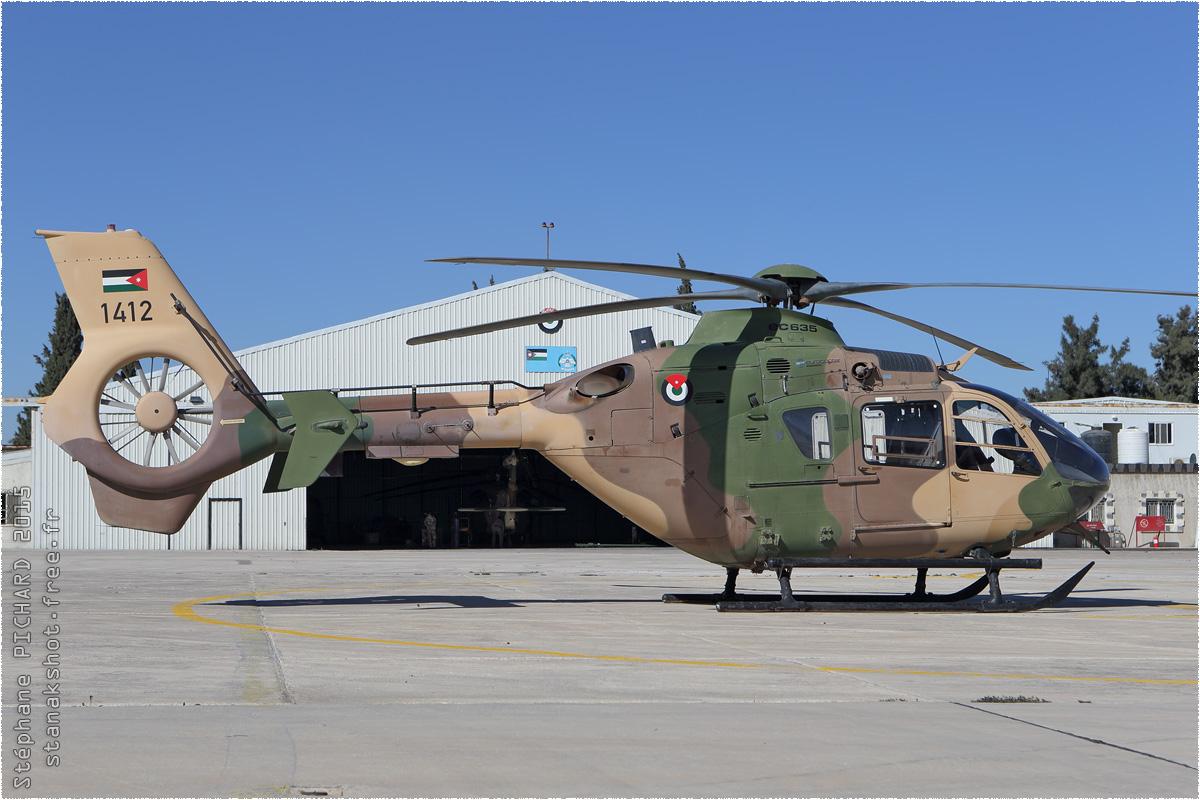 tof#281 EC135 de la Force aérienne royale jordanienne au statique à Al Marqa (Jordanie) en 2015