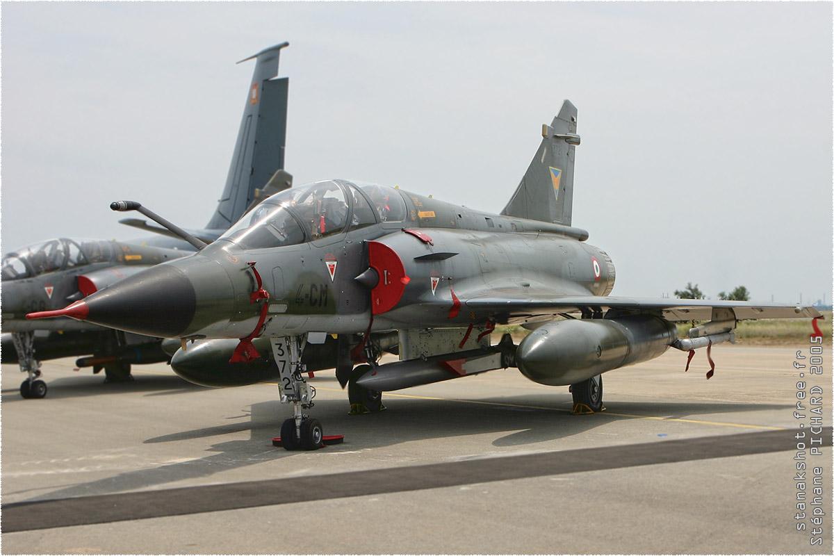 tof#304 Mirage 2000 de l'Armée de l'Air française au statique à Istres (France) lors du Meeting National de l'Air 2005