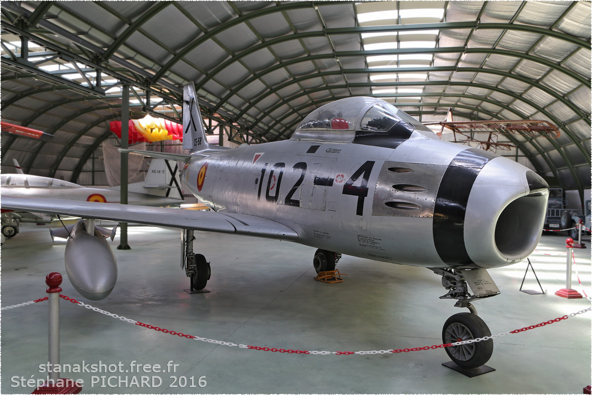 tof#387_F-86_de la Force aérienne espagnole