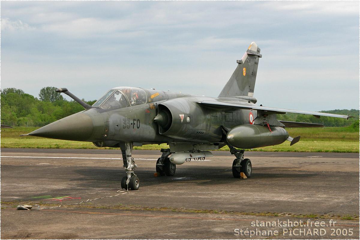 tof#594 Mirage F1 de l'Armée de l'Air française au statique à Luxeuil (France) lors du Meeting National de l'Air 2005