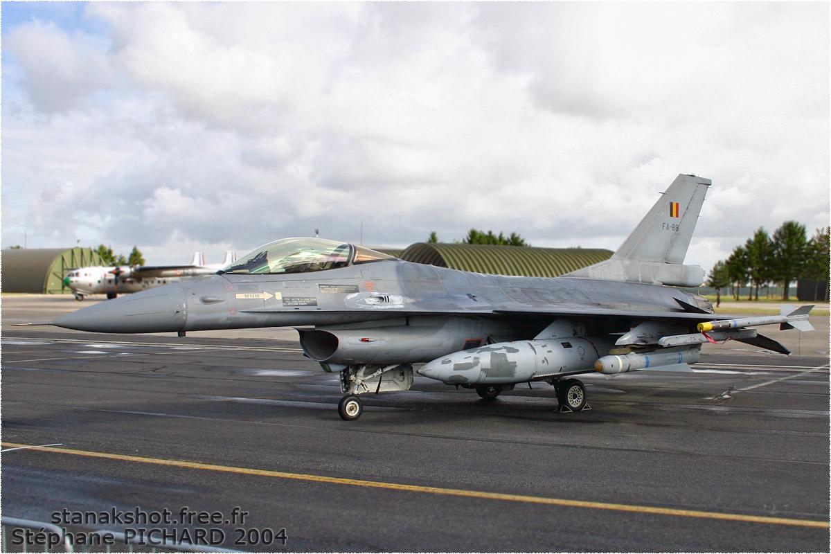 tof#611_F-16_de la Force aérienne belge