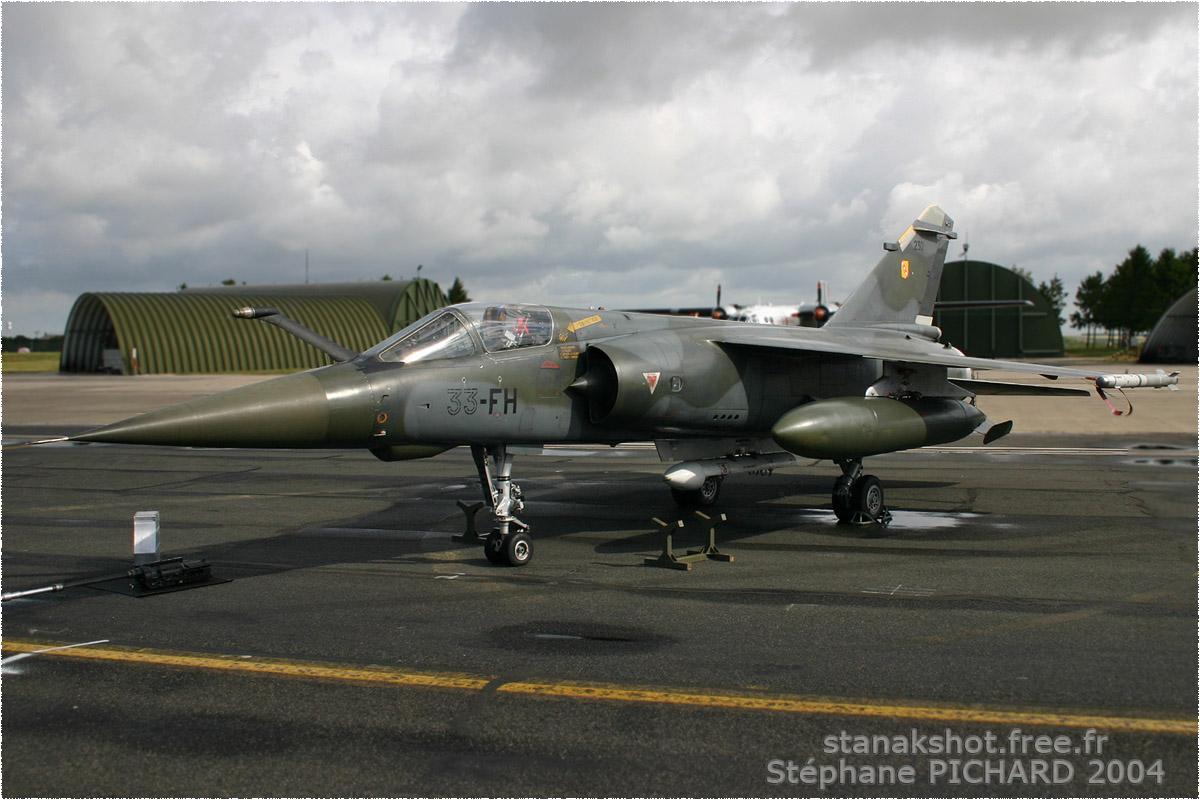 tof#640 Mirage F1 de l'Armée de l'Air française au statique à Reims (France) lors du Meeting National de l'Air 2004