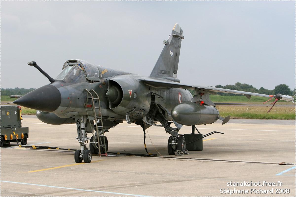 tof#675 Mirage F1 de l'Armée de l'Air française au statique à Saint-Dizier (France) lors du PCTAM 2008