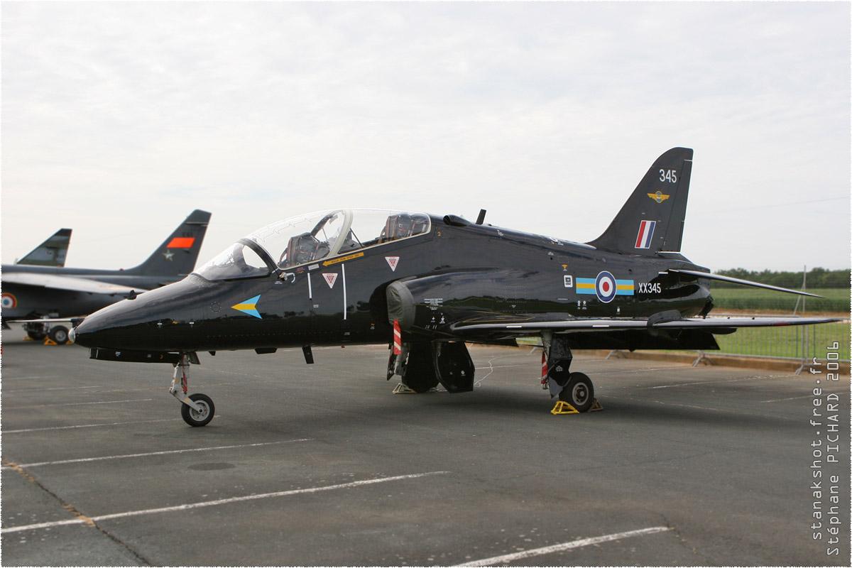 tof#873 Hawk de la Force aérienne royale britannique au statique à Rochefort (France) en 2006