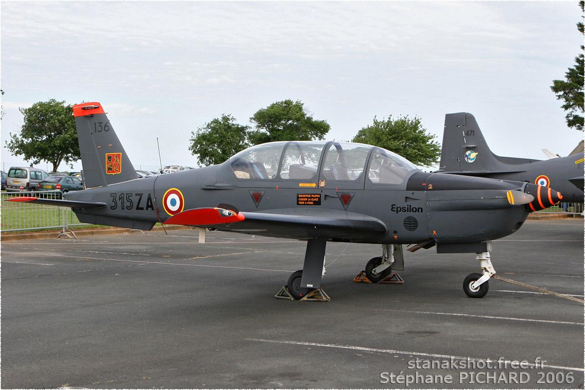 tof#910 Epsilon de l'Armée de l'Air française au statique à Rochefort (France) en 2006