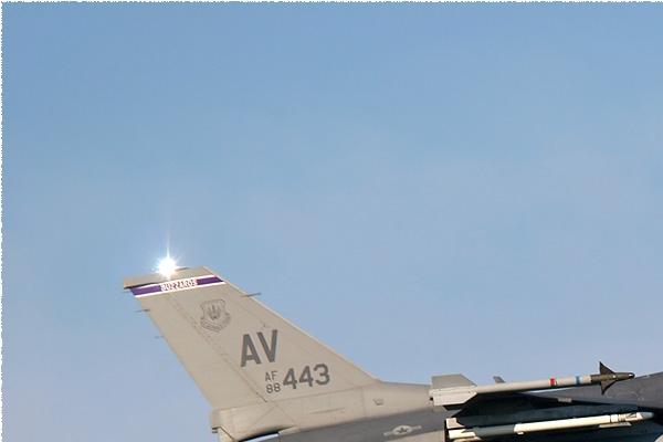 Photo#308-1-General Dynamics F-16C Night Falcon
