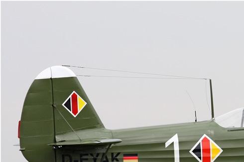 Diapo315 Yakovlev Yak-18 1 white/D-EYAK, Deauville (FRA) 2010