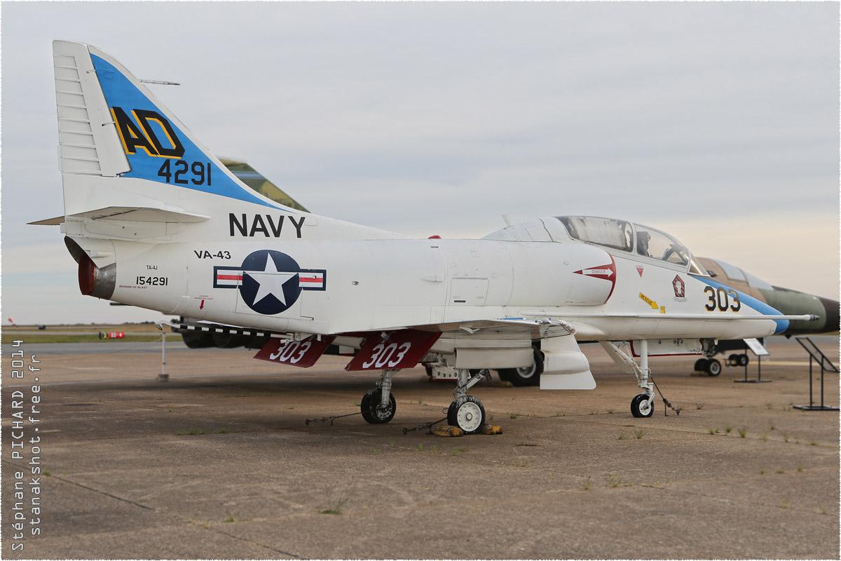 tof#1097 A-4 de la Marine américaine au statique à Tyler (TX, USA) en 2014