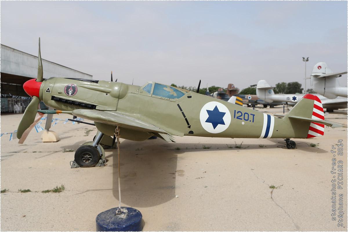 tof#1124_Bf 109_de la Force aérienne israélienne
