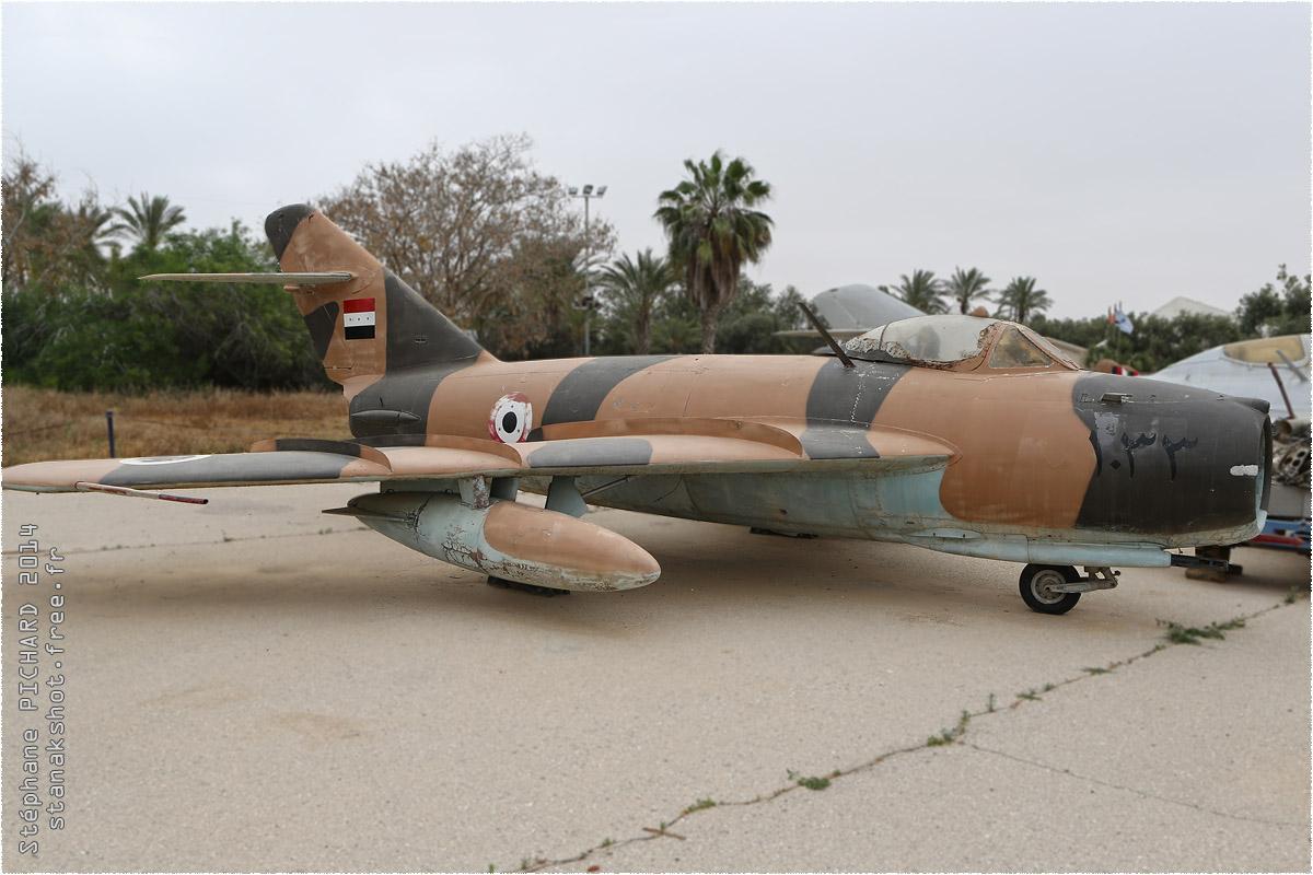 tof#1202 MiG-17 enregistré en Israel au statique à Hatzerim Museum (ISR) en 2014