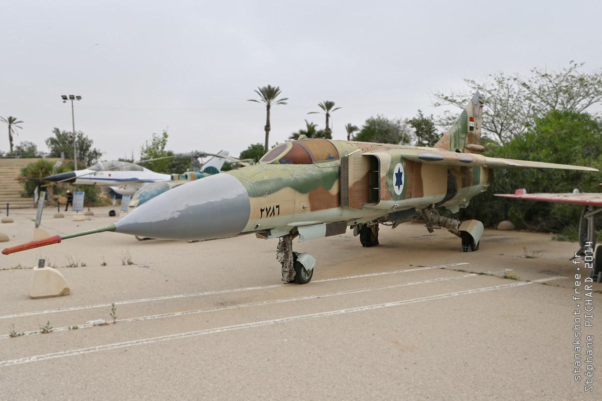 tof#1210_MiG-23_de la Force aérienne israélienne