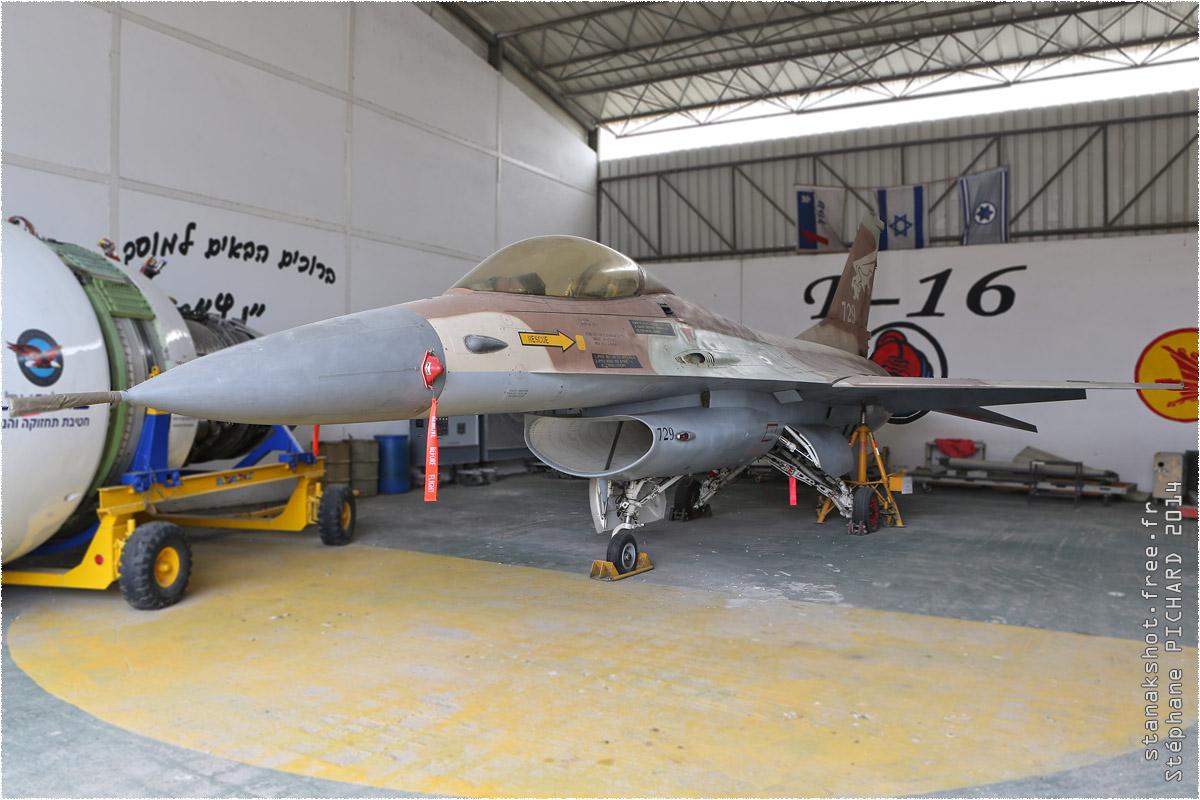 tof#1498 F-16 enregistré en Israel au statique à Tel Aviv (ISR) en 2014