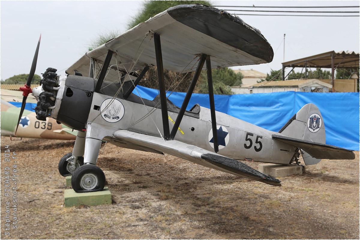 tof#1513_Stearman_de la Force aérienne israélienne