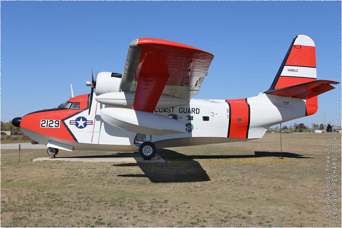 tof#1613 HU-16 enregistré aux USA au statique à Mobile (AL, USA) en 2014