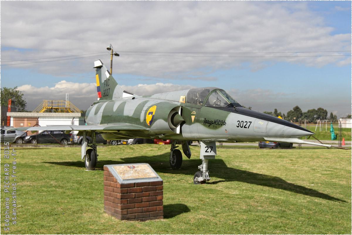 tof#1716_Mirage III_de la Force aérienne colombienne