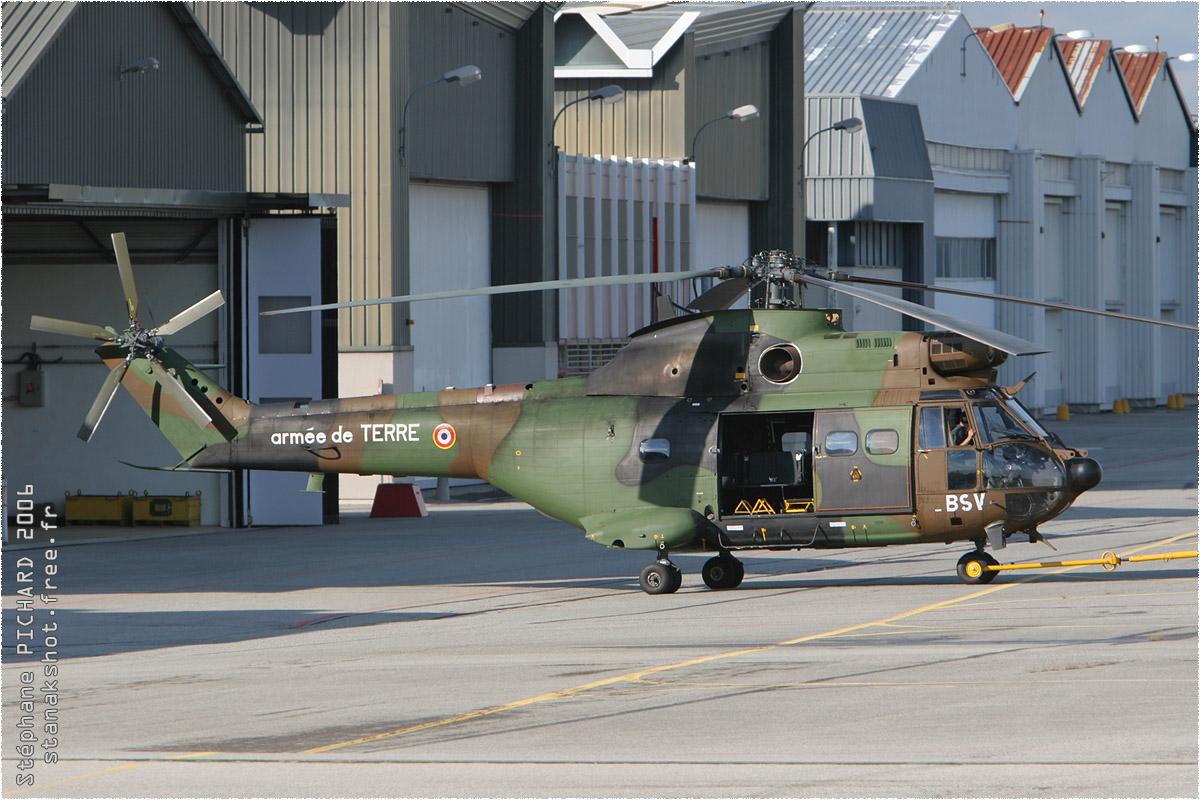 tof#1850 Puma de l'Aviation légère de l'Armée de terre française au statique à Valence (France) en 2006