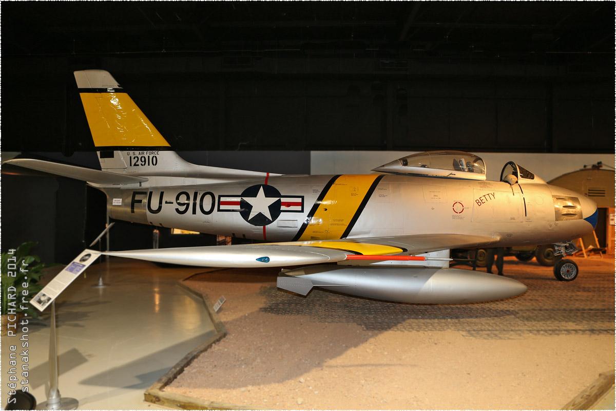tof#1935 F-86 enregistré aux USA au statique à Birmingham (AL, USA) en 2014