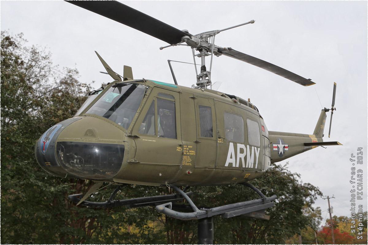 tof#1944 Bell 205 enregistré aux USA au statique à Southern Museum of Flight, Birmingham ()