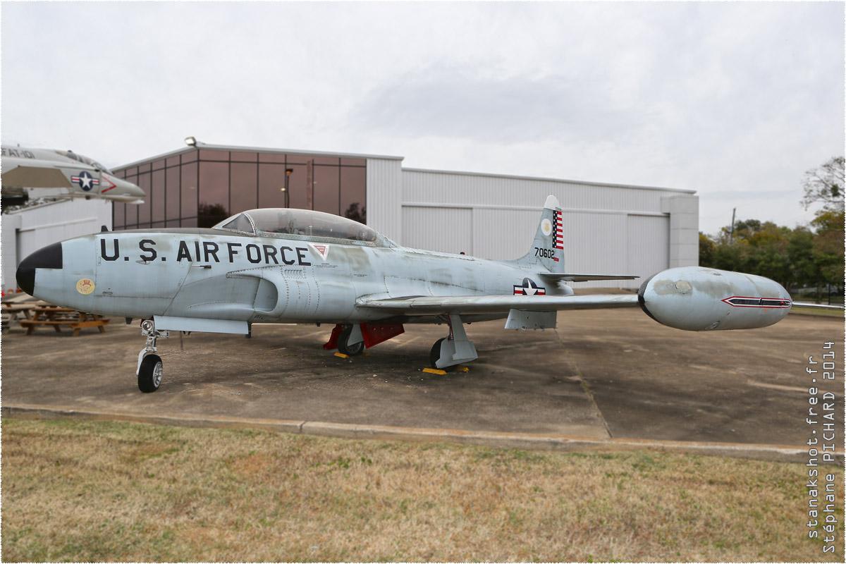 tof#1945 T-33 de l'US Air Force au statique à Southern Museum of Flight, Birmingham ()