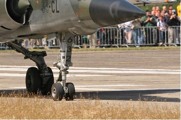 Diapo1099 Dassault Mirage F1CR 632/33-CL, Kleine-Brogel (BEL) 2005