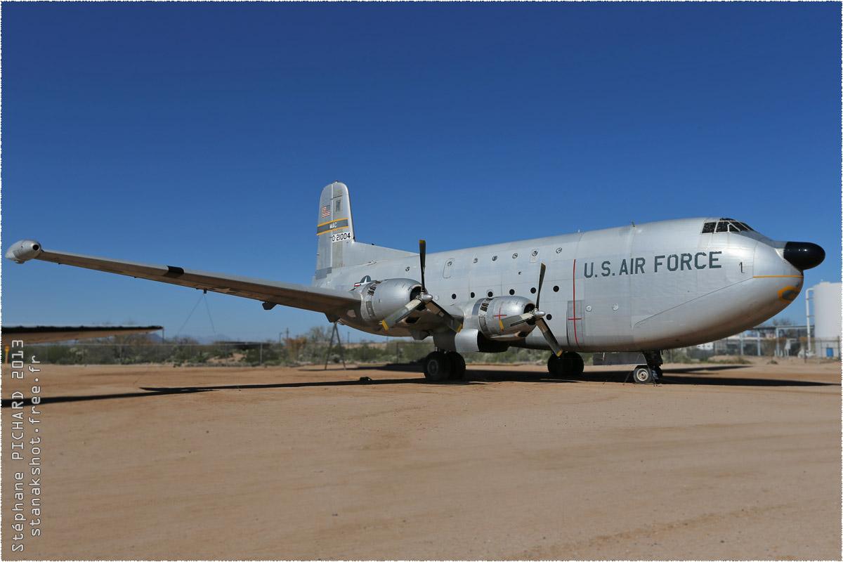 tof#10104 C-124 de l'US Air Force au statique à Pima Air & Space Museum, Tucson ()
