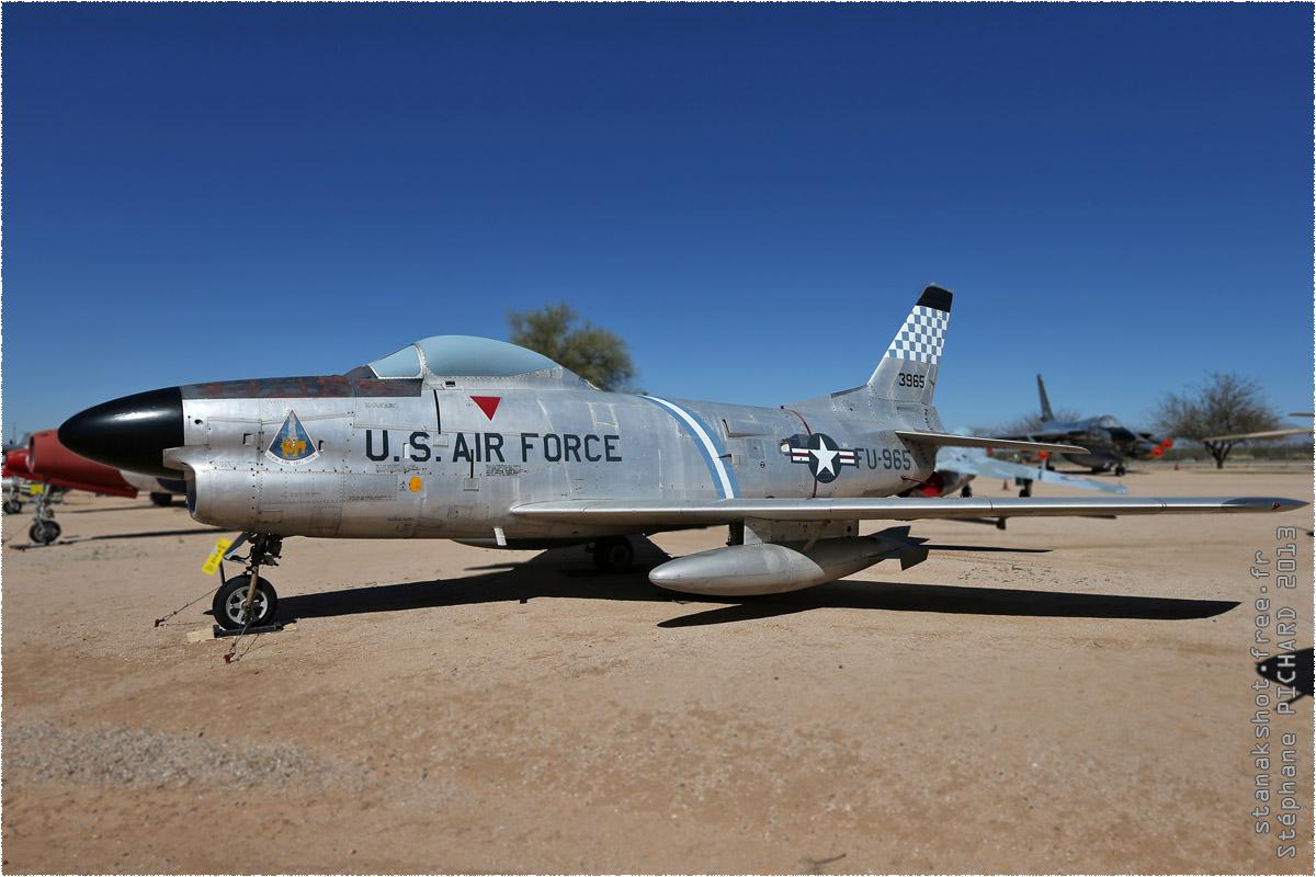 tof#10121 F-86 de l'US Air Force au statique à Pima Air & Space Museum, Tucson ()