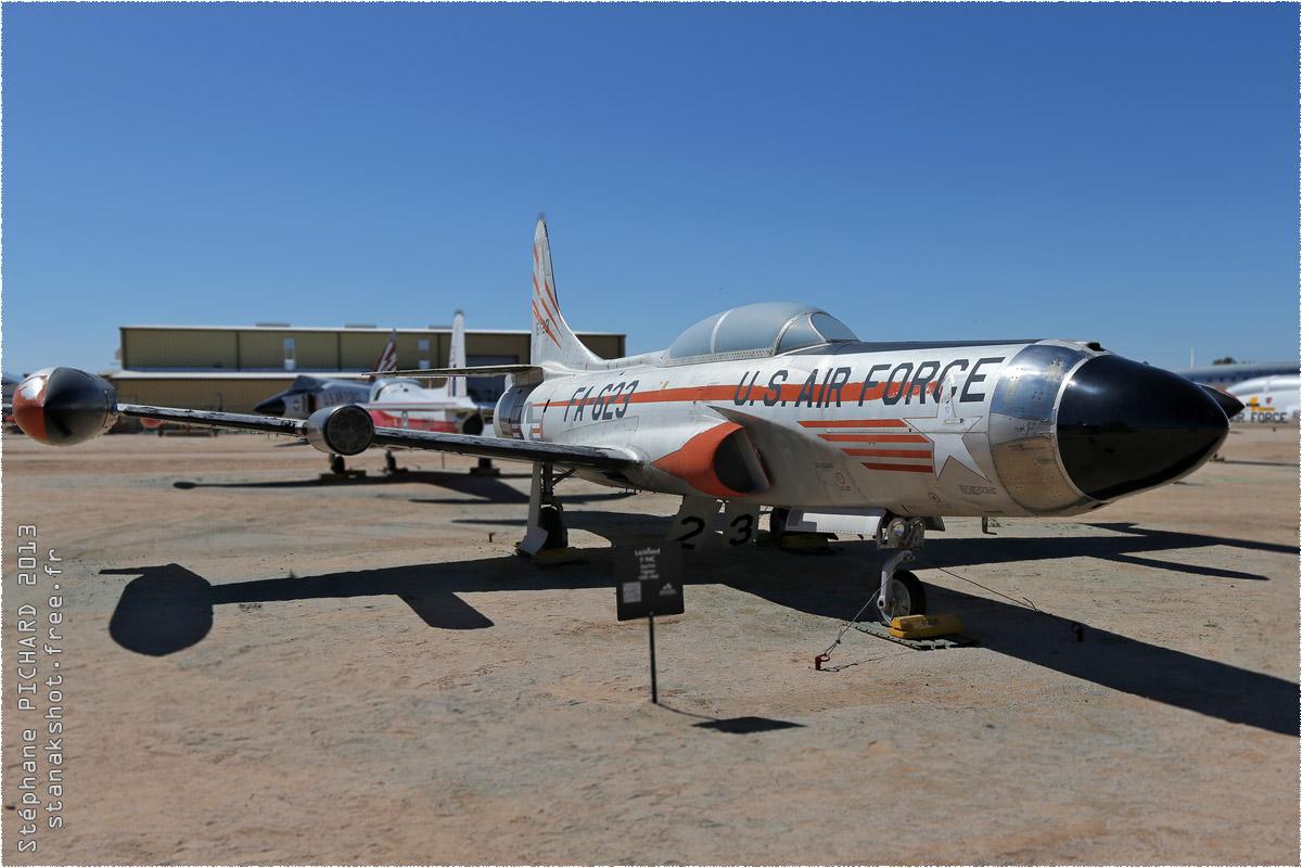 tof#10122 F-94 enregistré aux USA au statique à Pima Air & Space Museum, Tucson ()