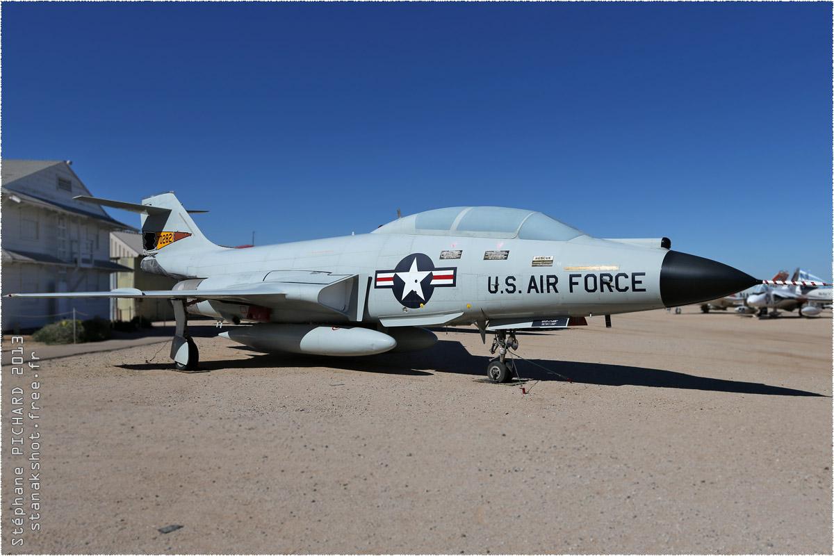 tof#10124 F-101 de l'US Air Force au statique à Davis-Monthan (AZ, USA) en 2013 Pima