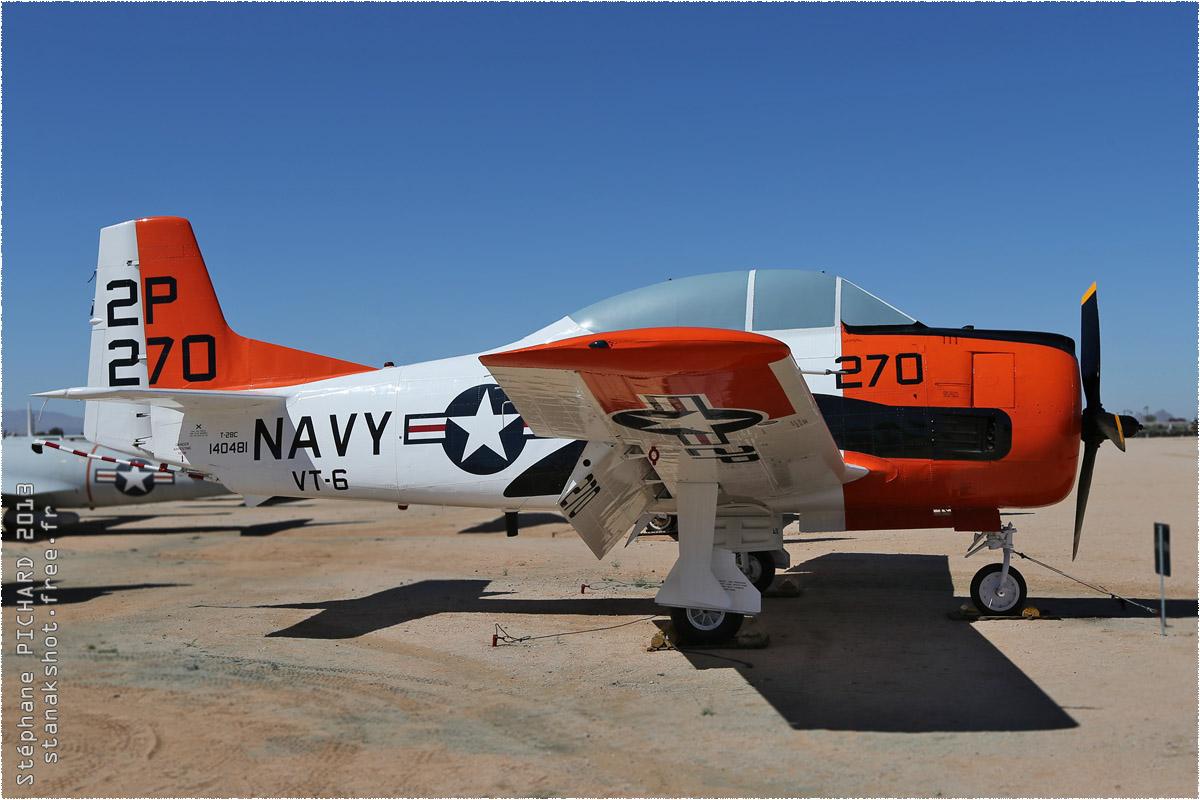 tof#10158 T-28 de la Marine américaine au statique à Pima Air & Space Museum, Tucson ()