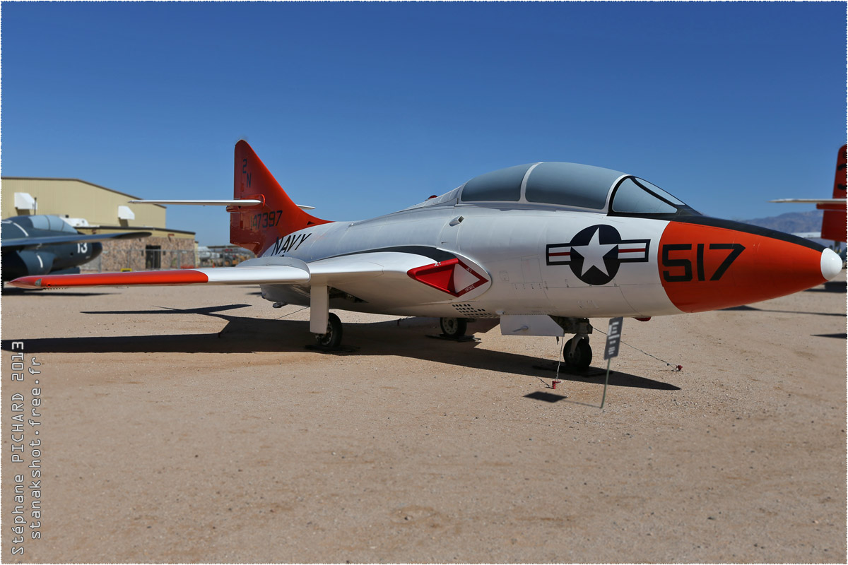 tof#10163 Panther de la Marine américaine au statique à Pima Air & Space Museum, Tucson ()