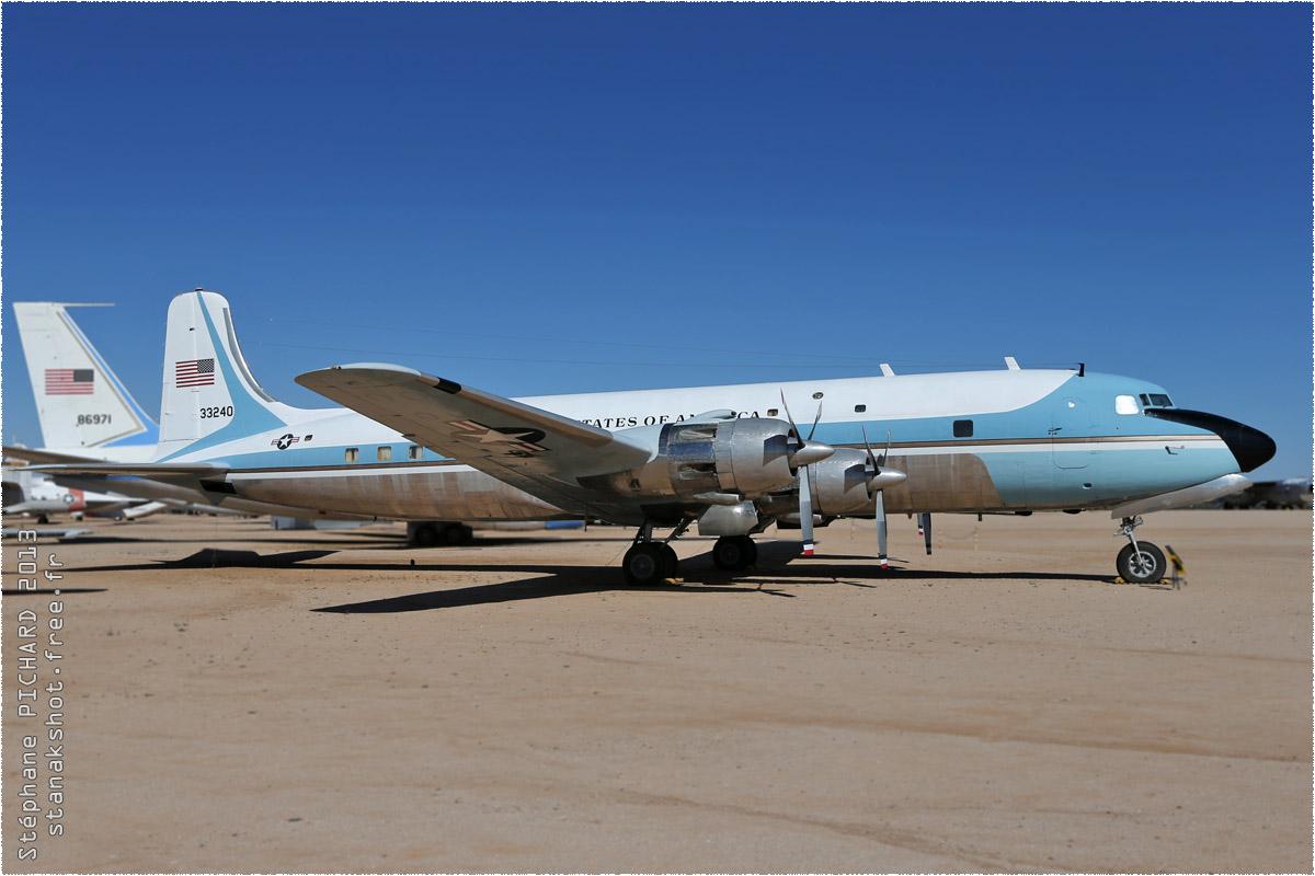 tof#10170 DC-6 enregistré aux USA au statique à Davis-Monthan (AZ, USA) en 2013 Pima