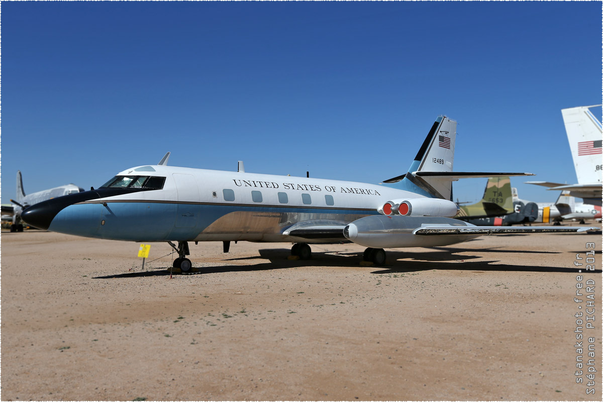 tof#10171 JetStar de l'US Air Force au statique à Pima Air & Space Museum, Tucson ()