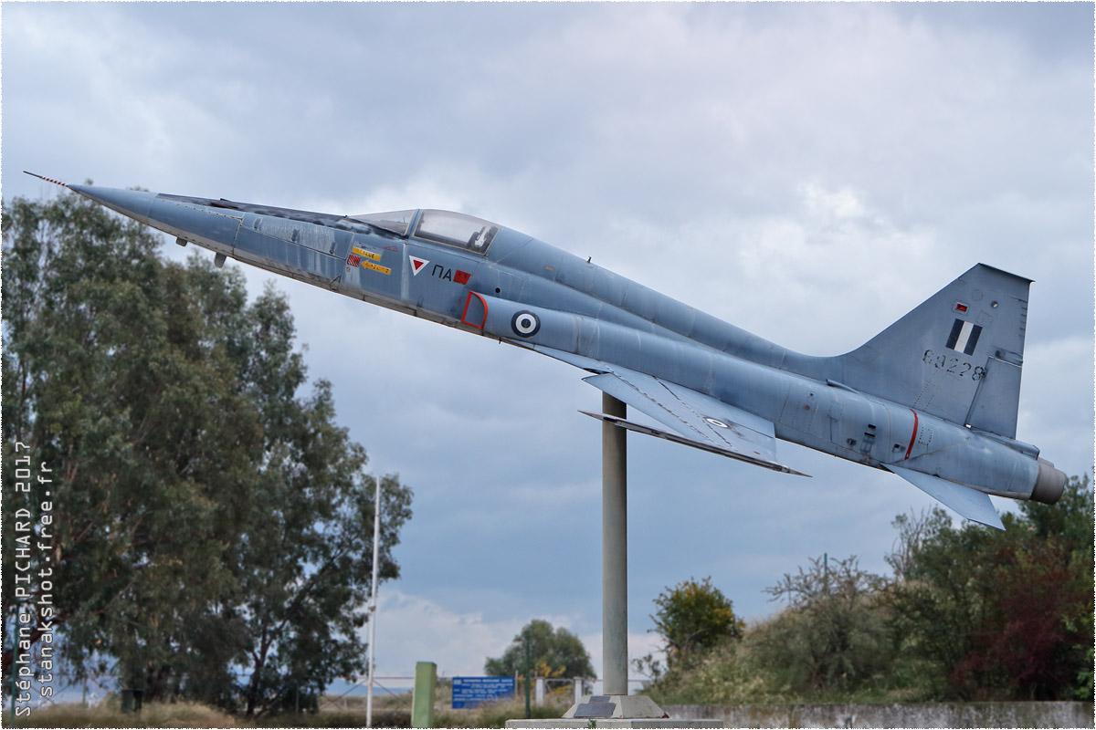 tof#10182 F-5 enregistré en Grèce au statique à Volos (Grèce)