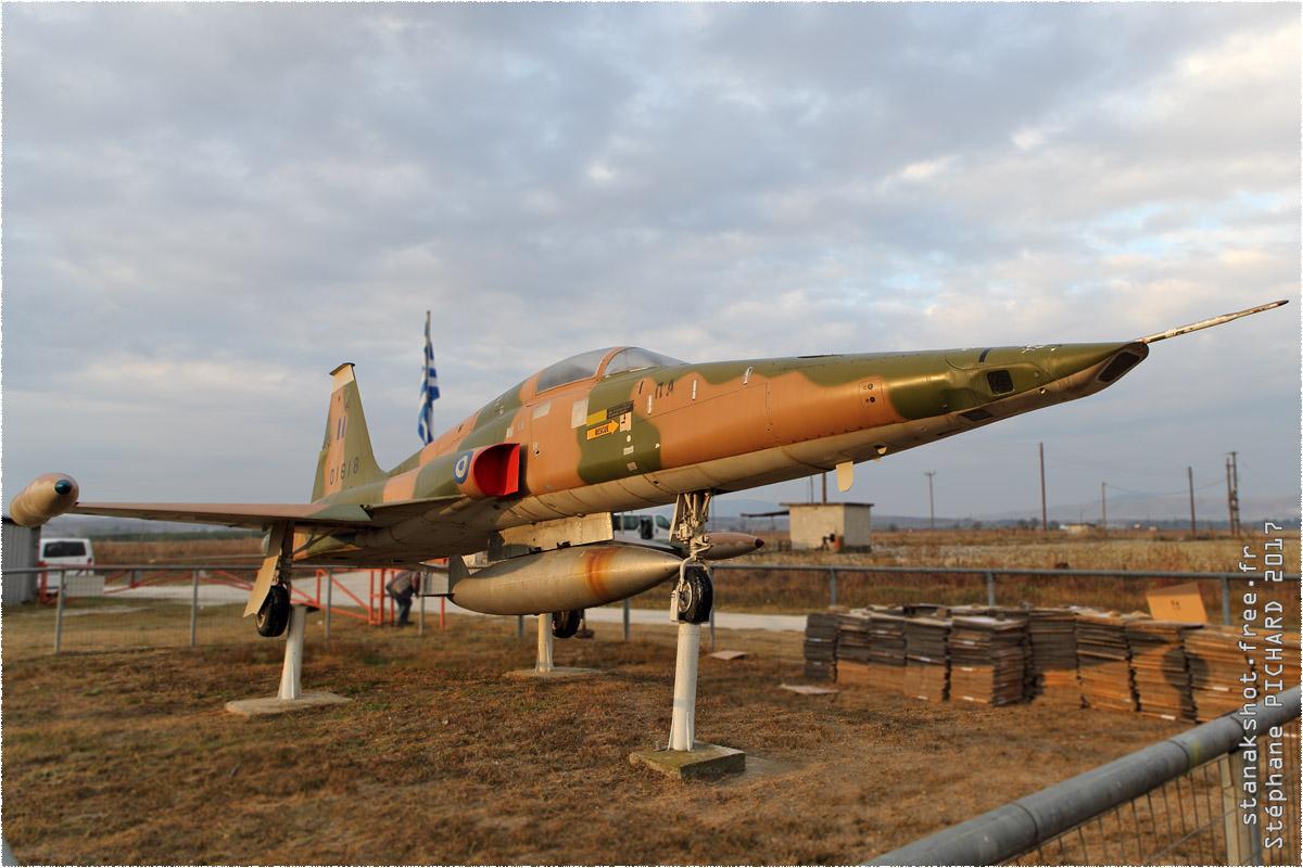 tof#10202 F-5 enregistré en Grèce au statique à Larissa (GRC) en 2017