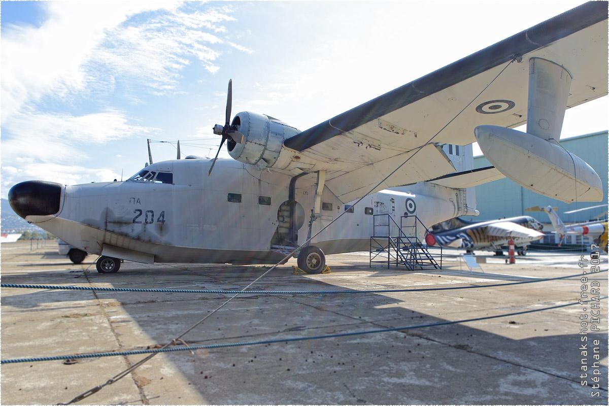 tof#10261 HU-16 de la Force aérienne grecque au statique à Tatoi (GRC) en 2017