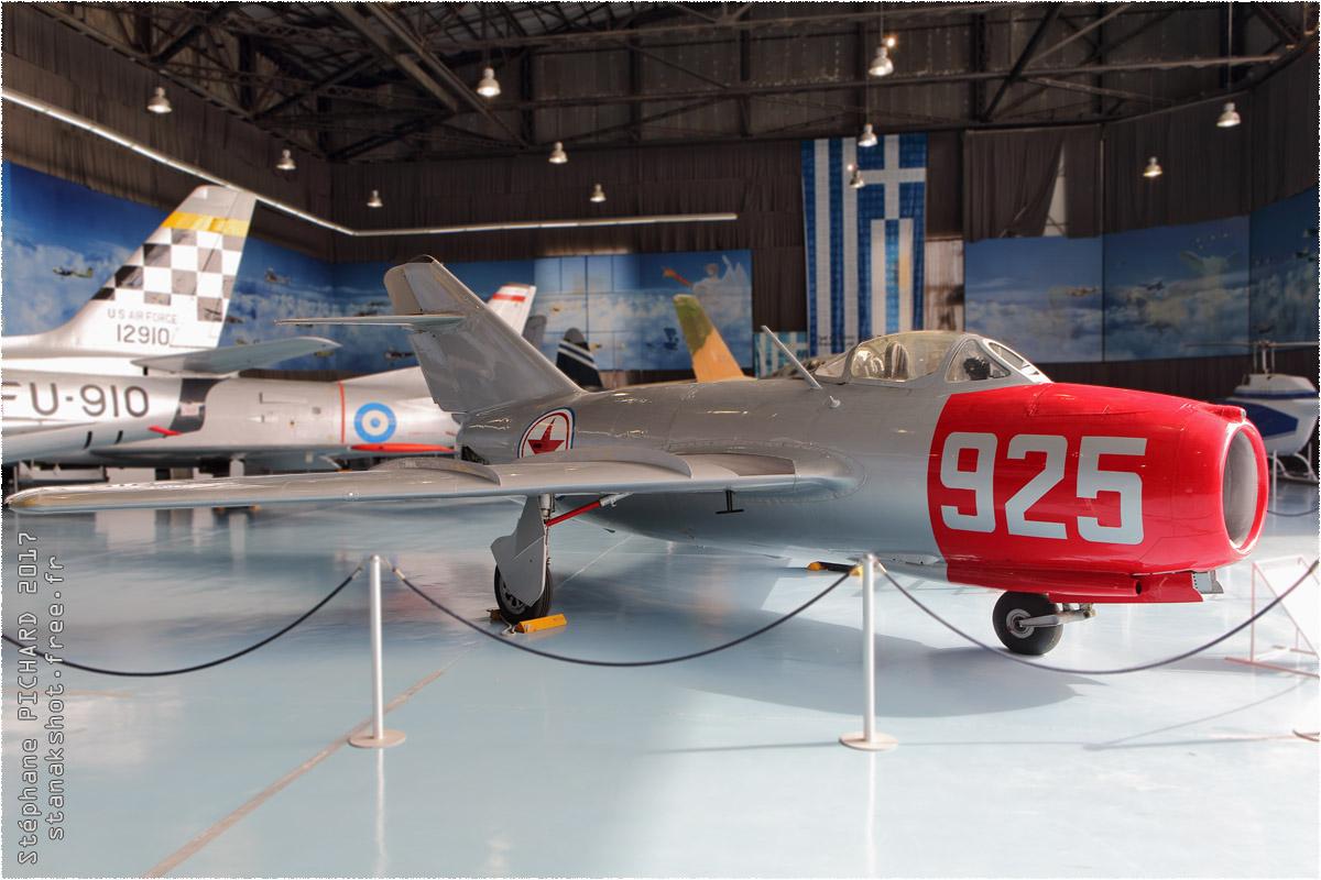 tof#10263 MiG-15 enregistré en Grèce au statique à Tatoi (GRC) en 2017