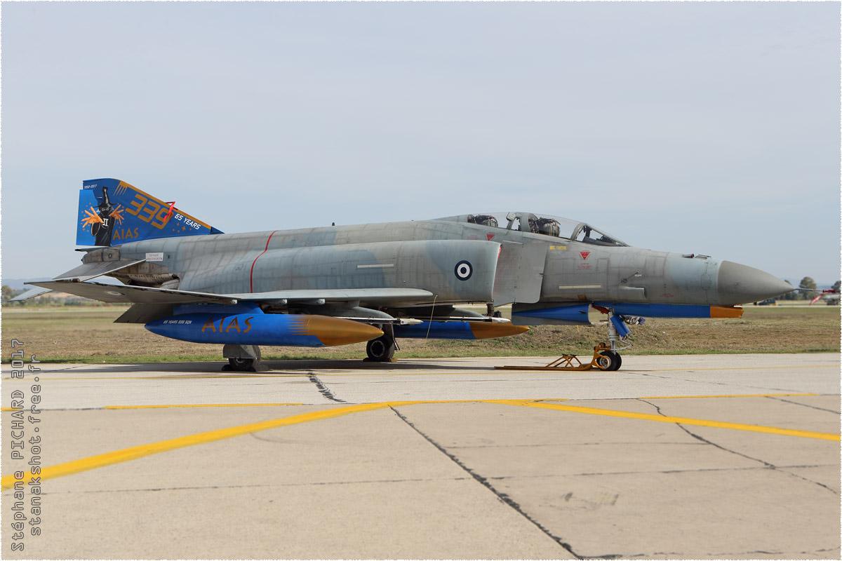 tof#10318 F-4 de la Force aérienne grecque au statique à Andravida (Grèce) en 2017