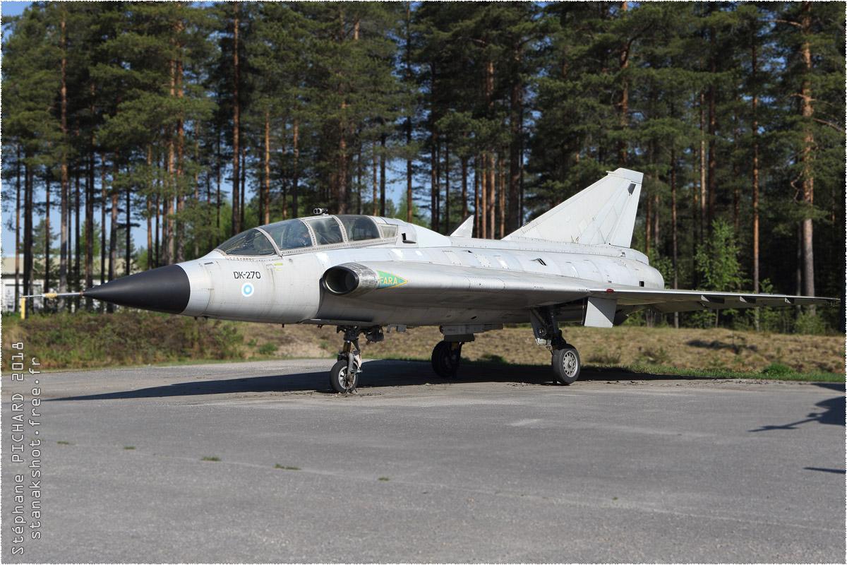 tof#10330 Draken de la Force aérienne finlandaise au statique à Jyväskylä (FIN) en 2018