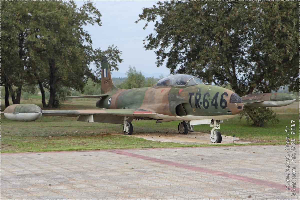 tof#10340 T-33 de la Force aérienne grecque au statique à Araxos (GRC) en 2017