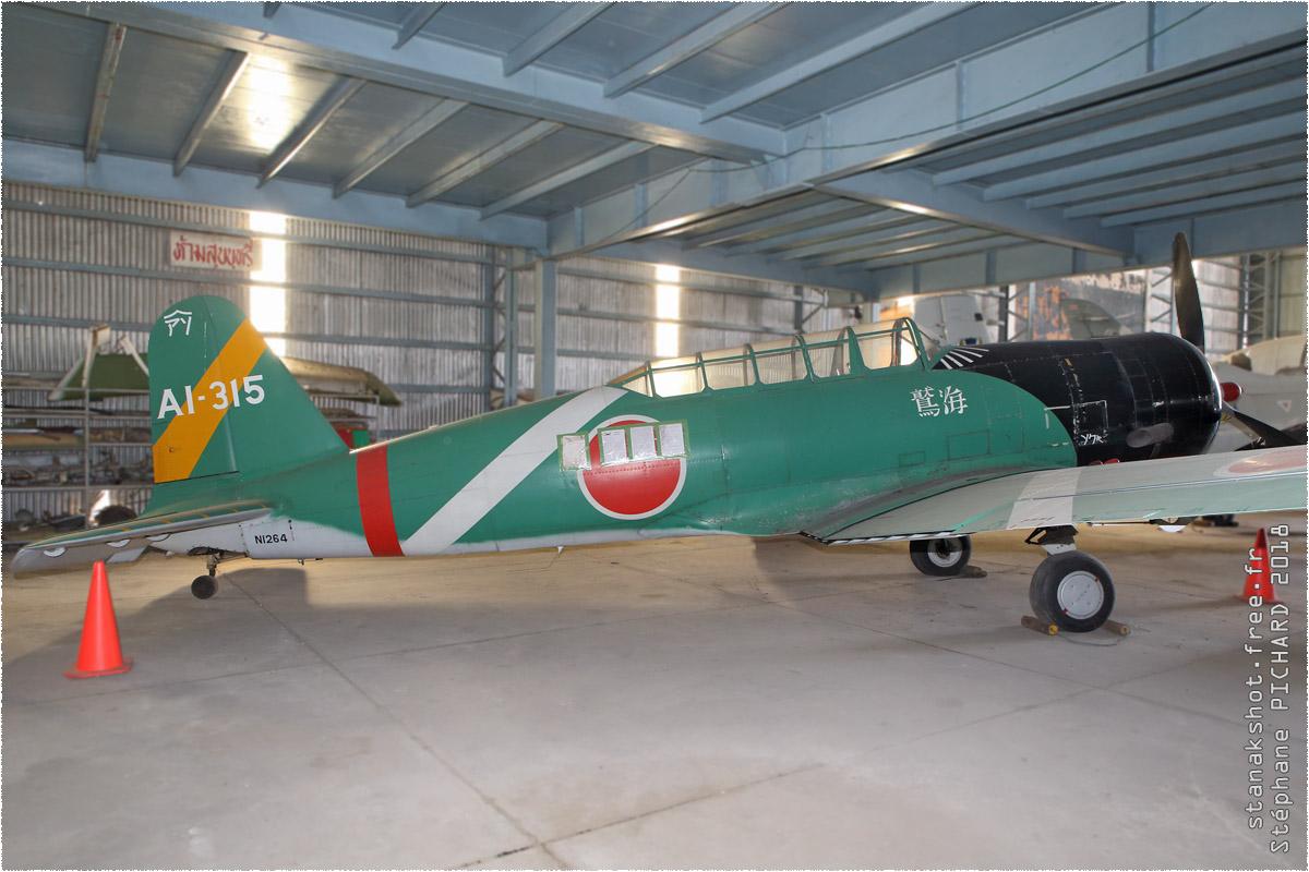 tof#10386 T-6 enregistré en Thaïlande au statique à Tango Squadron, Chiang Mai (Thaïlande)