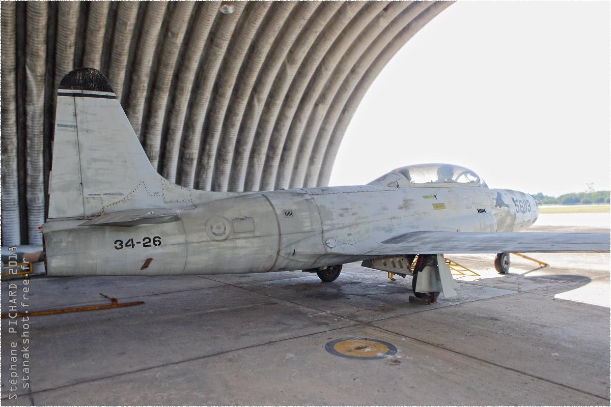 tof#10407 T-33 enregistré en Thaïlande au statique à Tango Squadron, Chiang Mai (Thaïlande)