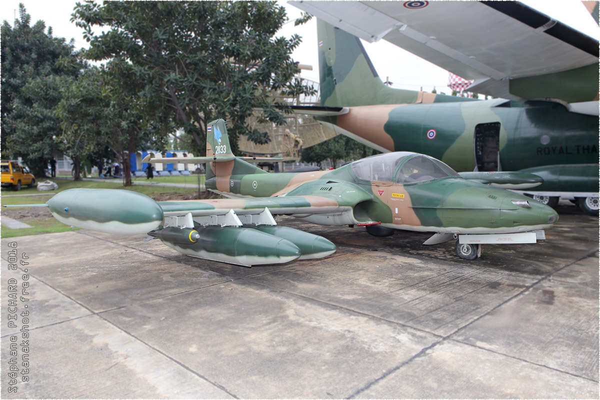 tof#10468 T-37 de la Force aérienne royale thaïlandaise au statique à Bangkok (THA) en 2018