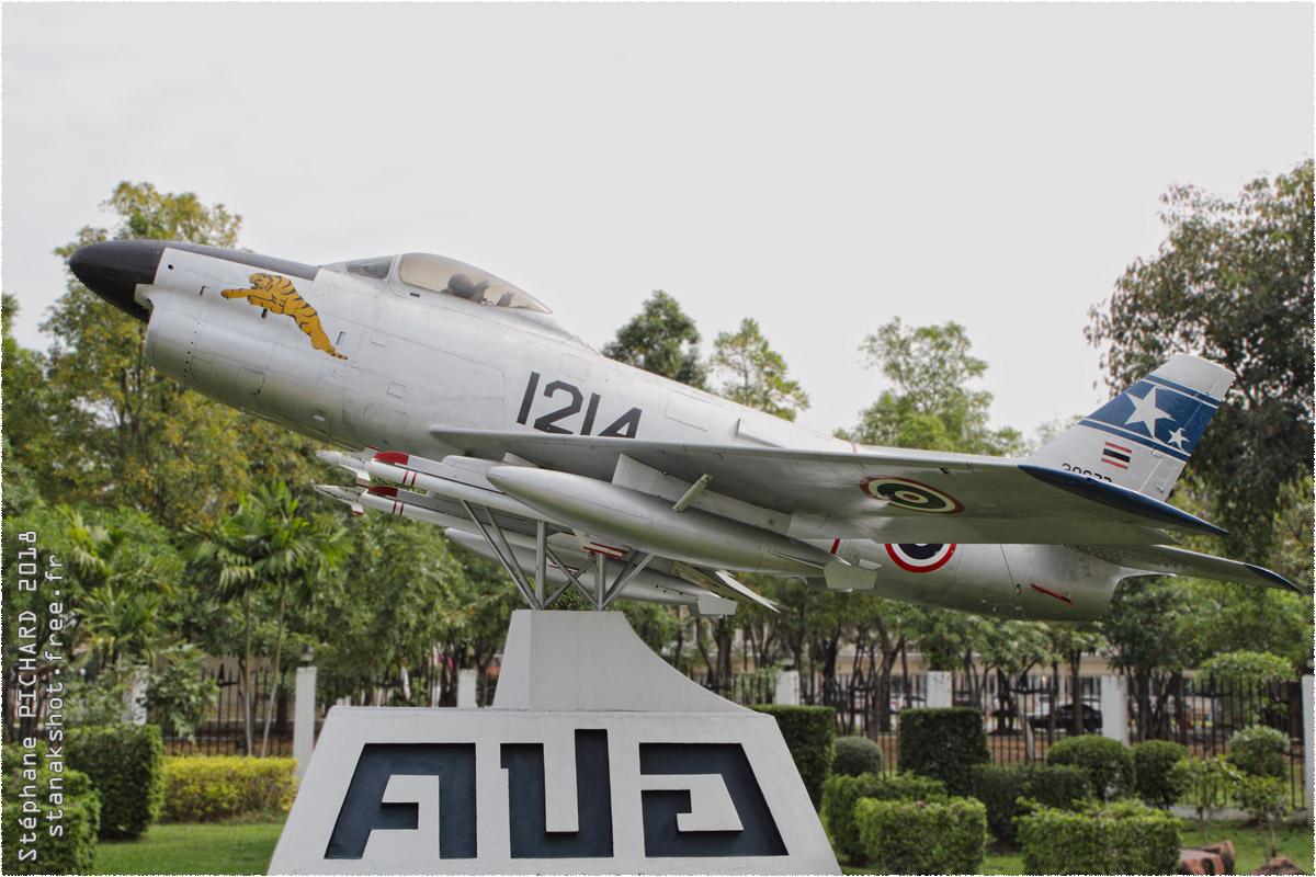 tof#10498_F-86_de la Force aérienne royale thaïlandaise