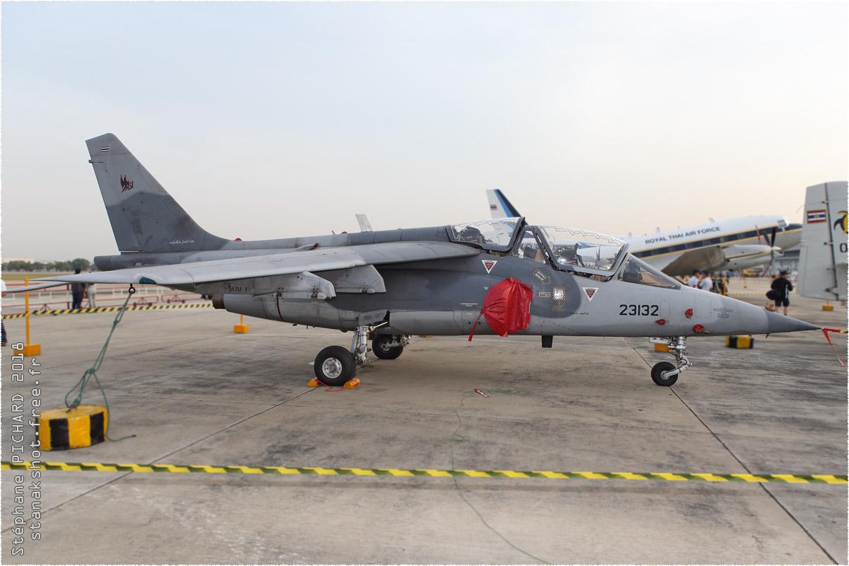 tof#10504 Alphajet de la Force aérienne royale thaïlandaise au statique à Bangkok-Don Muang (Thaïlande) en 2018