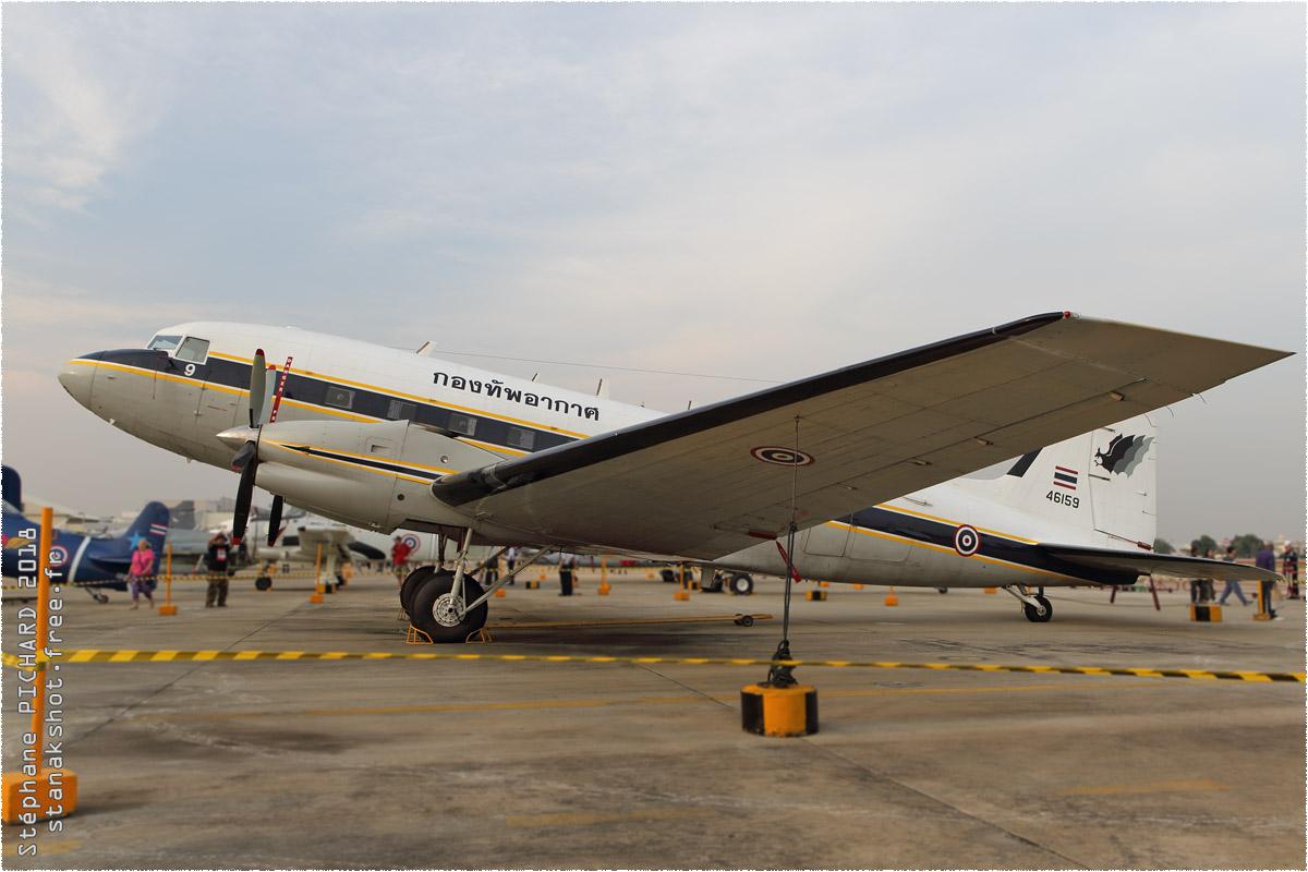 tof#10505_DC-3_de la Force aérienne royale thaïlandaise