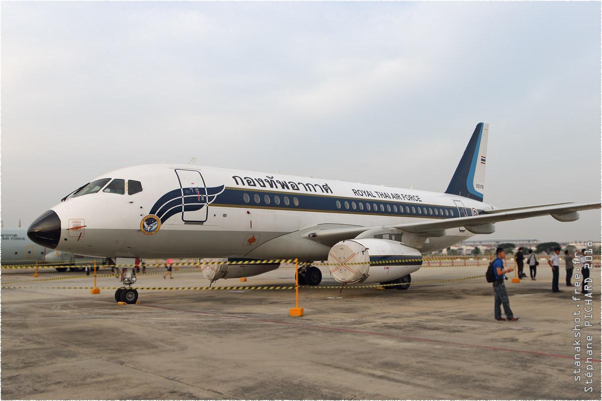 tof#10528 Superjet 100 de la Force aérienne royale thaïlandaise au statique à Bangkok-Don Muang (Thaïlande) en 2018